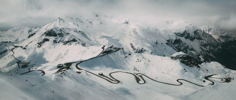 горы; дорога; природа; путешествия Альпийские виражиphoto preview