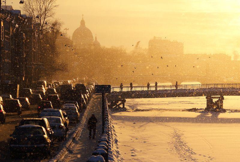 Зимний день на Фонтанкеphoto preview