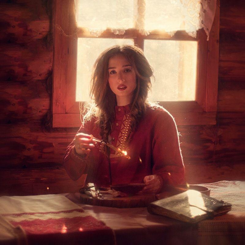 русская, девушка, красавица, сказка, тепло, свет, girl, model, beautiful, russian, fairytale Русские сказкиphoto preview