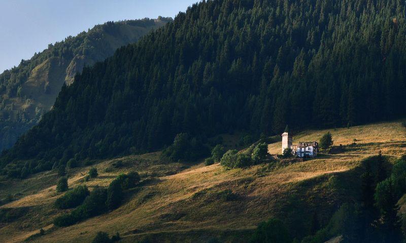 caucasus, georgia, кавказ, горы, svanetia The Svanian Towerphoto preview
