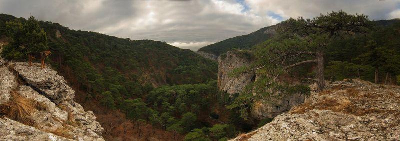 горы, крым Ущелье Уч-Кошphoto preview