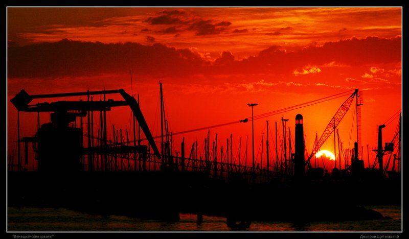 венеция, закат Венецианские закаты - 3photo preview