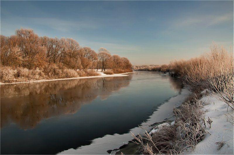 пейзаж Краски зимыphoto preview