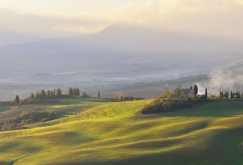 italy, tuscany, италия, тоскана Дом на холмеphoto preview