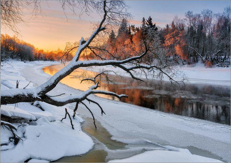 река, зима, беларусь ***photo preview
