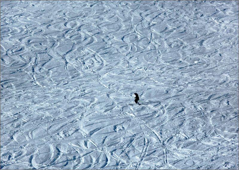 avoriaz, авориаз франция горный лыжи снег Геометрия фрирайдаphoto preview