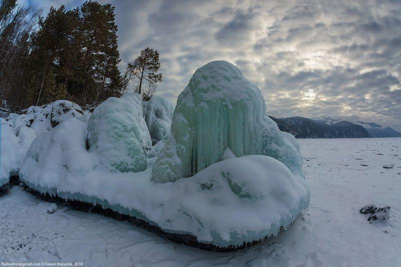 алтай, телецкое озеро, сибирь, алтайский заповедник Мыс Чичелганphoto preview
