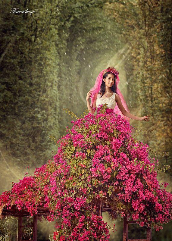 Цветочная феяphoto preview