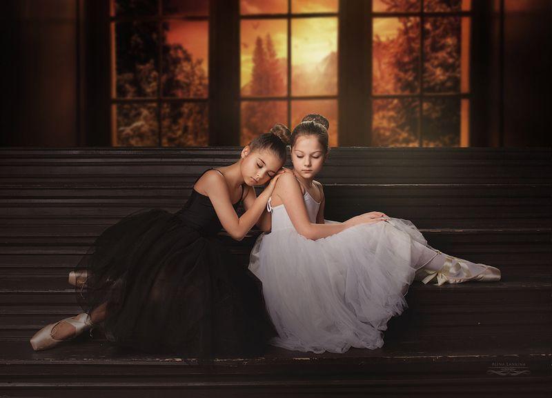 балет, студия, модель, девочка, ребенок, портрет, художественный портрет, арт, алина ланкина ***photo preview