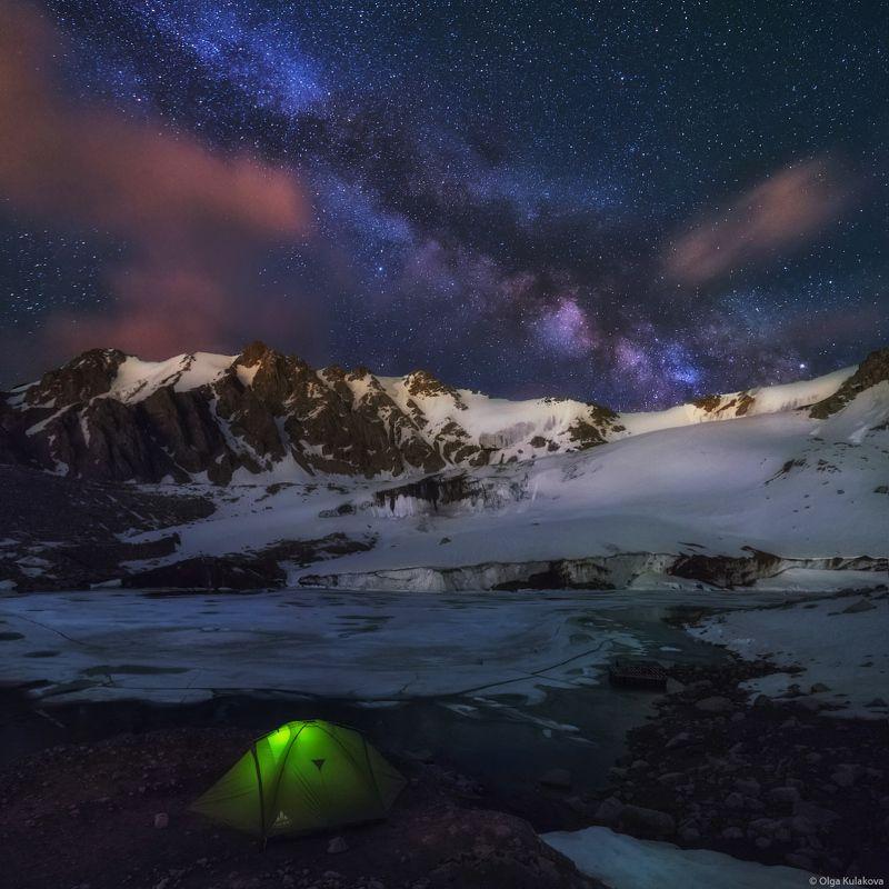 Ночь на моренном озере №13photo preview