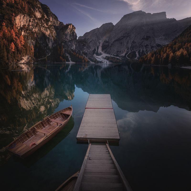 lake, Italy,  autumn СПОКОЙСТВИЕphoto preview
