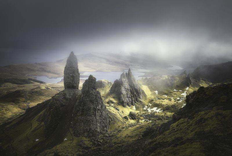 scotland, isleofskye, nature, landscape, travel Another world.photo preview