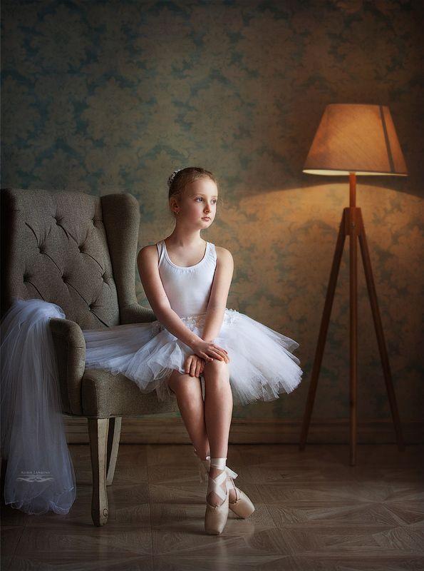 портрет, девочка, ребенок, балет, алина ланкина, грусть, настроение ***photo preview