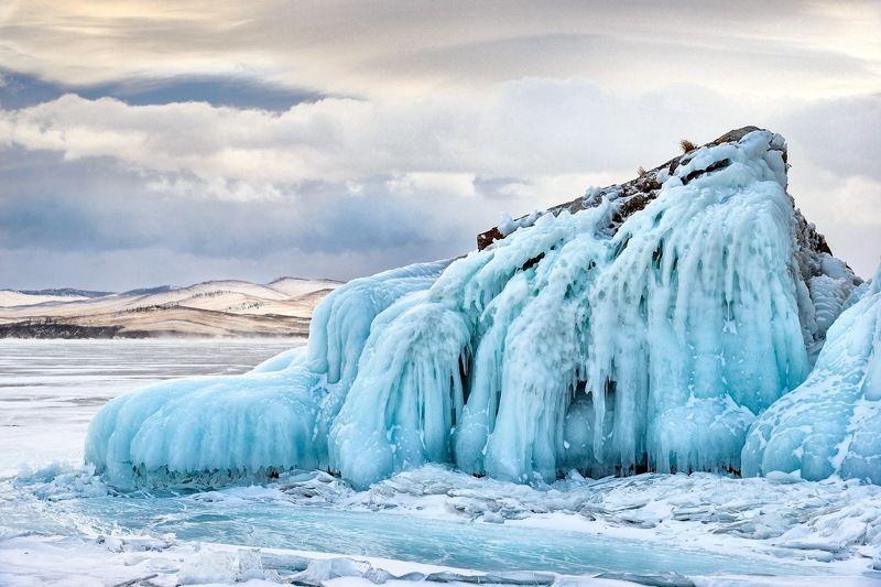 байкал, зима, лёд, пейзаж, ольхон Зимний Байкалphoto preview