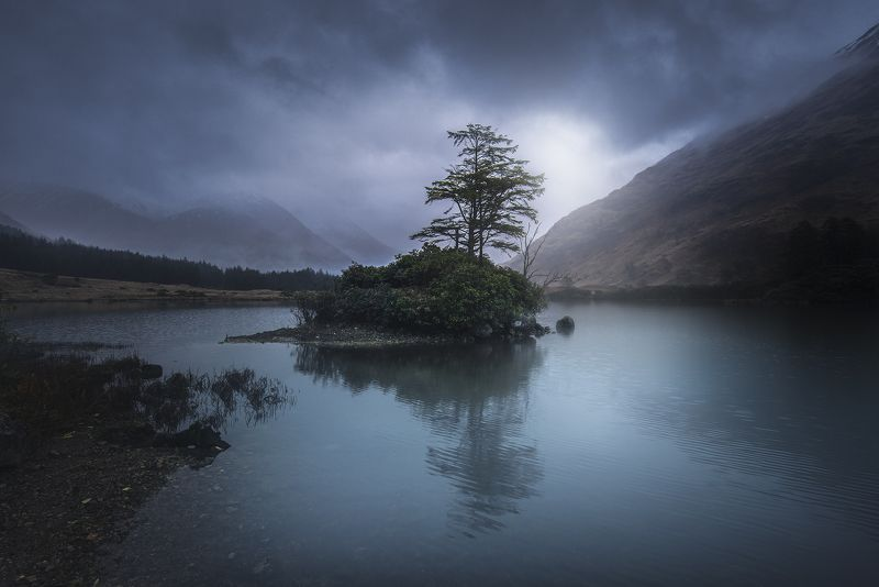 scotland, isleofskye,  nature, landscape, пейзаж, clouds, dramatic Scotlandphoto preview