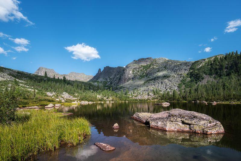 пейзаж,Ергаки,Сибирь,озеро,отражение, Спящий Саянphoto preview