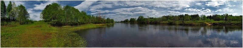 река, природа, пейзаж, весна Широка река...photo preview