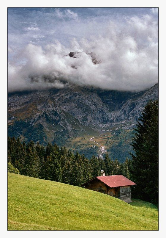 les diablerets, switzerland, kodak ektar Switzerlandphoto preview