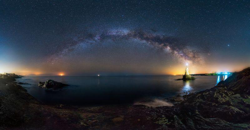 Ахтопол под звездитеphoto preview