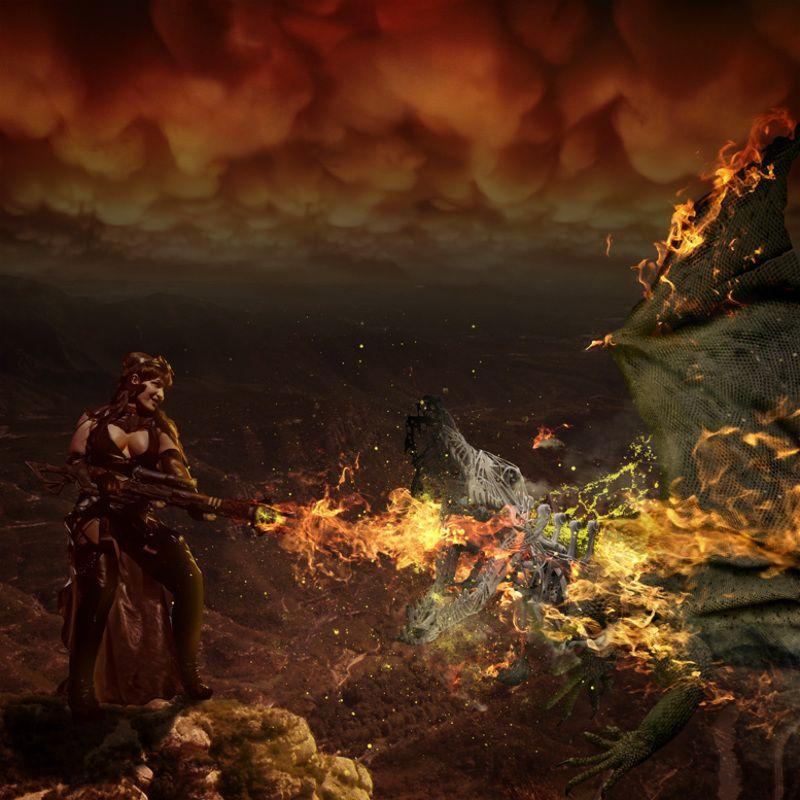 фотошоп Steampunk shooterphoto preview