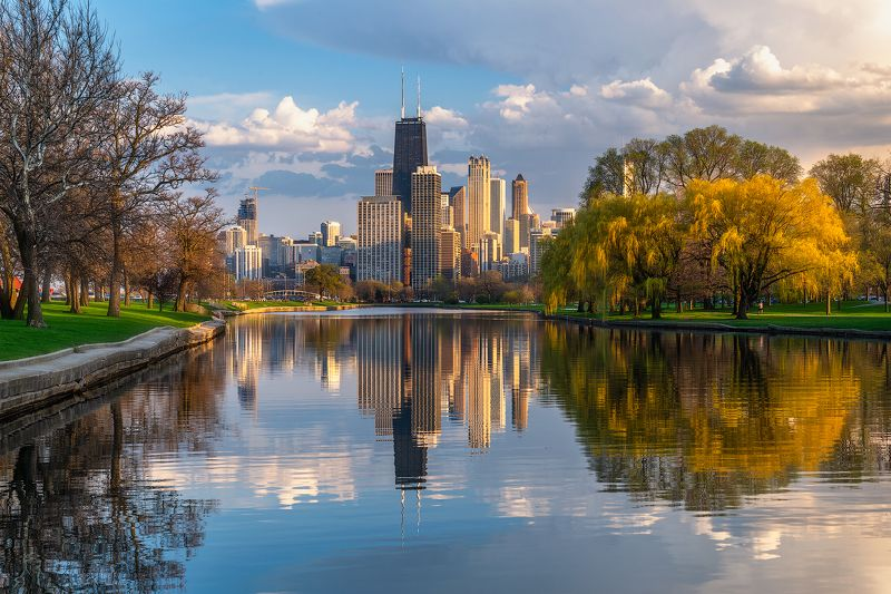 Chicago, Spring, Serene, Spring is Herephoto preview
