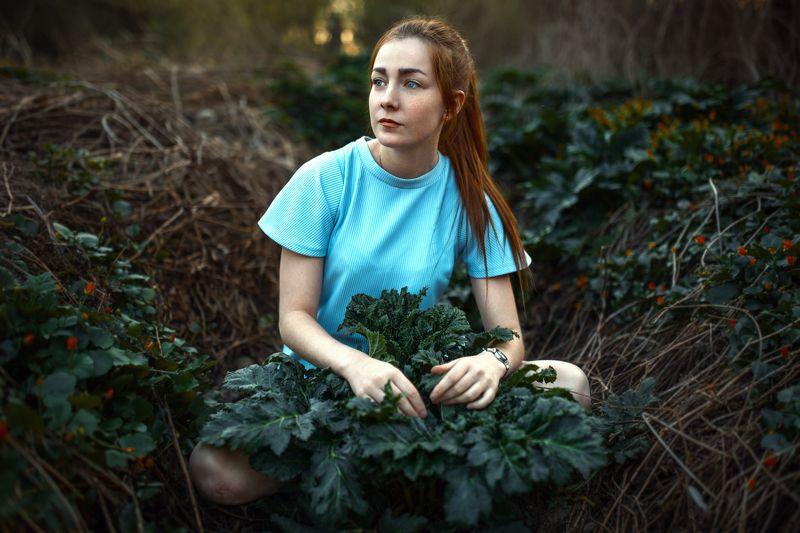 портрет, природа портрет, девушка. photo preview