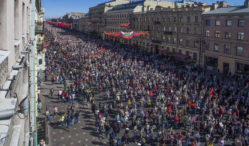 бессмертный полк Бессмертный полк. Санкт-Петербург. 9 мая 2018 года.photo preview