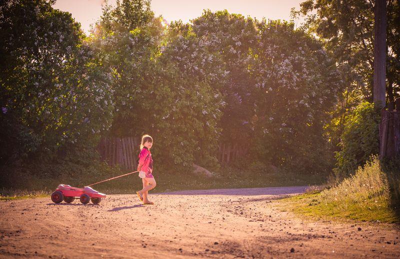 дети, ребенок, девочка, счастье, детство, исчезающий вид детства, счастливое детство, улица, село Исчезающий вид детства...photo preview