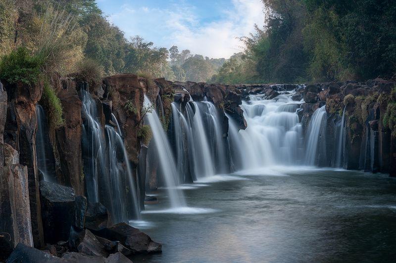 водопад,плато,болавен,лаос,путешествие,пейзаж, Водопады плато Болавен...photo preview