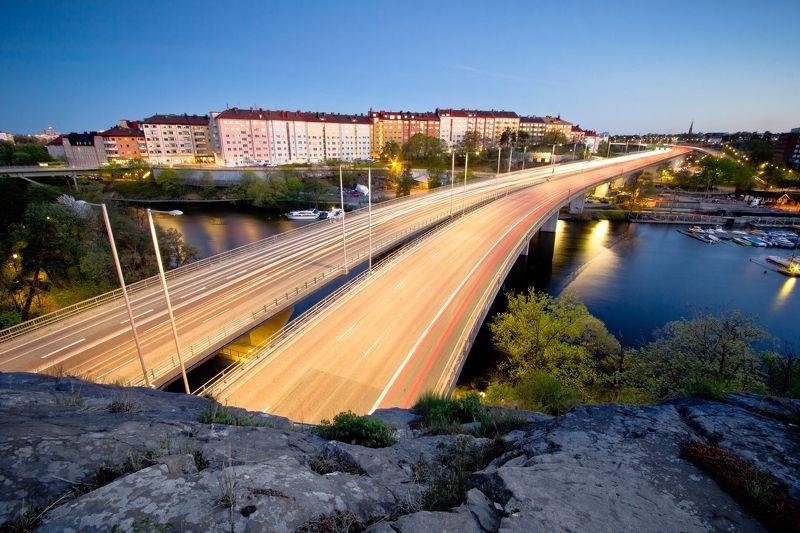 patryk, ignacak, stockholm ,sweden, night, photography, longexposure City Trailsphoto preview