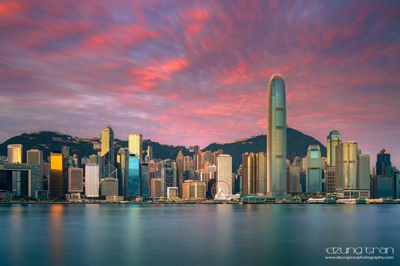 Victoria Harbour sunrisephoto preview