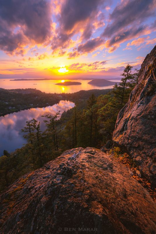 Mt Erie Sunsetphoto preview