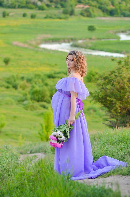 беременность, девушка, материнство Нежность...photo preview