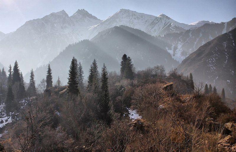 осень,горы в последний день осениphoto preview