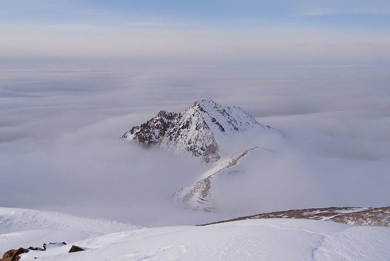 горы, заилийский алатау Таинственный остров.photo preview