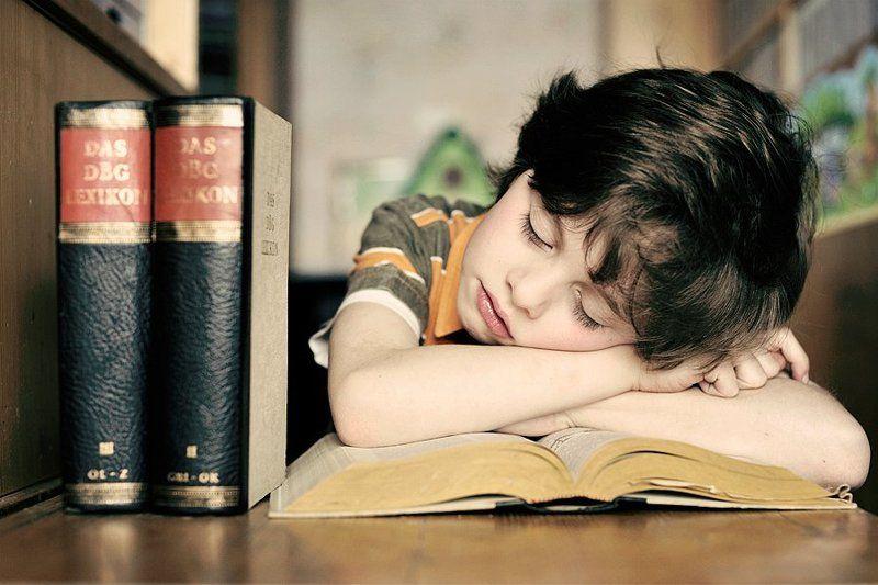 Уснул после долгое читаниеphoto preview