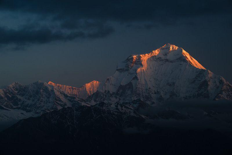 непал, гималаи, дхаулагири, горы, рассвет, nepal Немного о времениphoto preview
