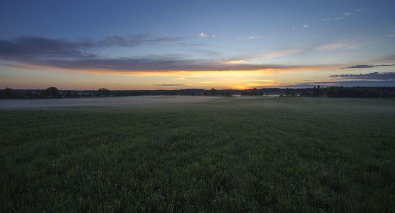 Вечерняя, туманная...photo preview