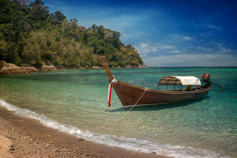 трэвел,таиланд,лодка,пляж,пейзаж,морской,путешествие, Тайские лодки.photo preview