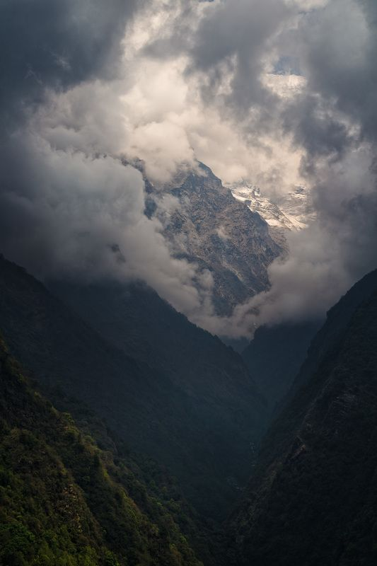 непал, гималаи, треккинг, горы, Колесо Сансарыphoto preview