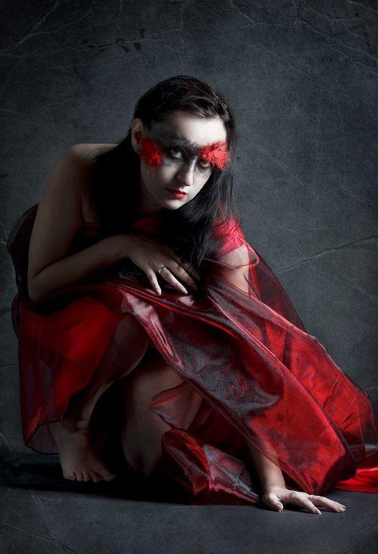 огонь,девушка, студия огоньphoto preview