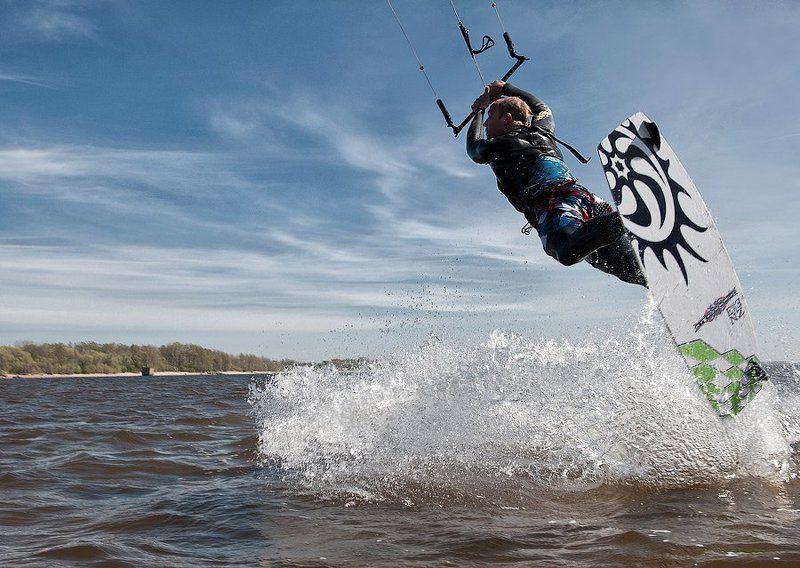 кайтинг,спорт,ветер,вода Открытие сезонаphoto preview
