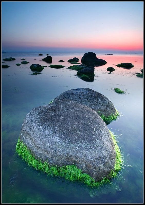 black sea, sunrise Ballsphoto preview