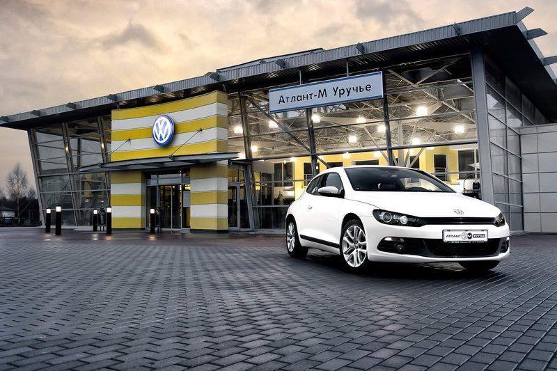 автомобиль, восход, Volkswagen Sciroccophoto preview