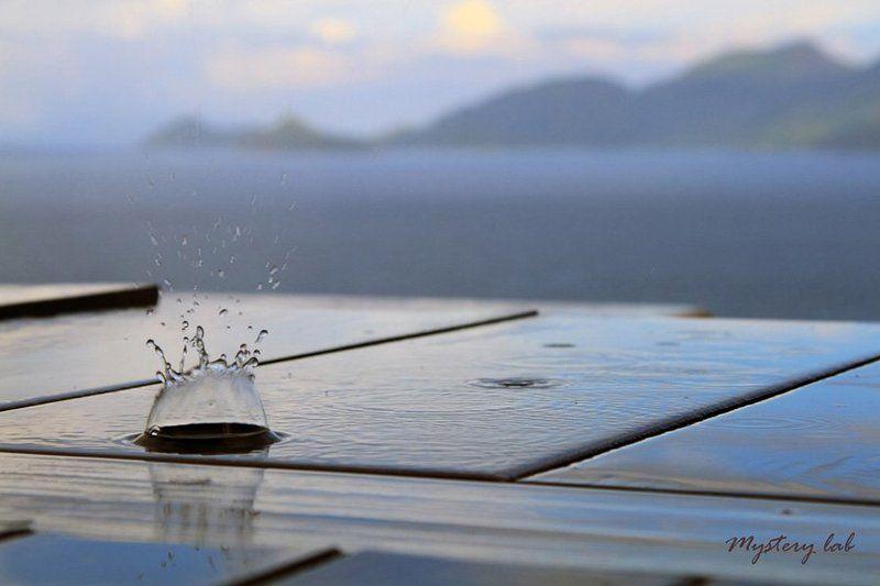 сейшелы, rain, seyshelles photo preview