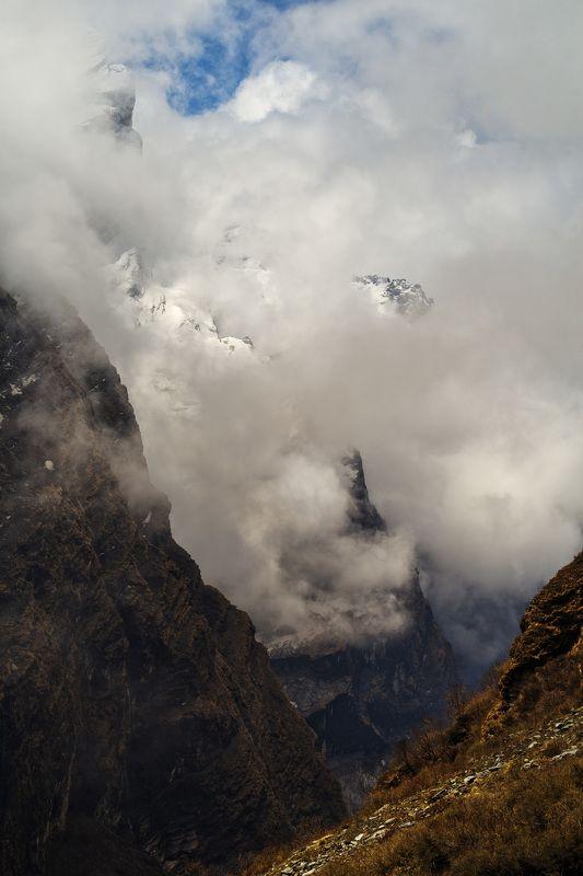 непал, гималаи, треккинг, горы,nepal, himalaya Гнев Маччапучры.photo preview