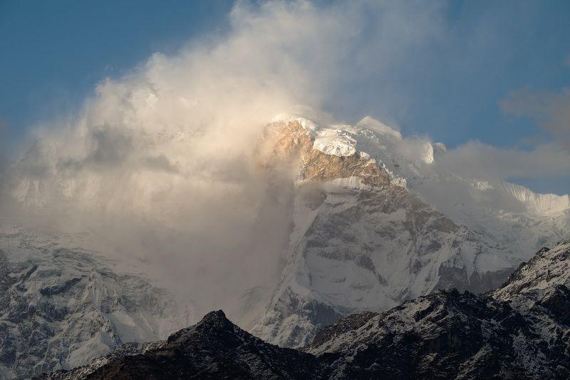 непал, гималаи, треккинг, горы,nepal, himalaya Аннапурна I гневается.photo preview