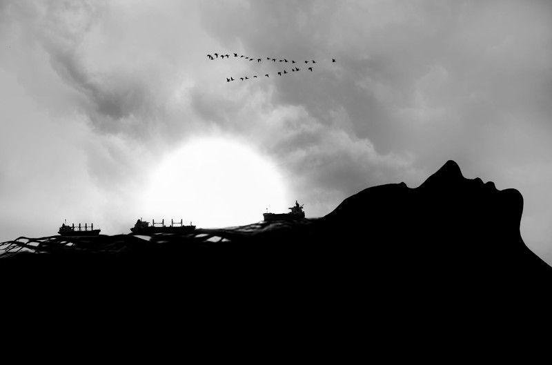 #35photo #surrealart#photoshop#ps_fantasy#art_minimal #bnw_dream #photography#minimalism#conceptual#fineart #instagram#ps_dreams#bnwminimalismmag#art_digital #ir_photographer#ir_aks#minimal#canon#blackandwhite#bnw#surreal#hadimalijani#art#fantastic_earth# Mermaidphoto preview