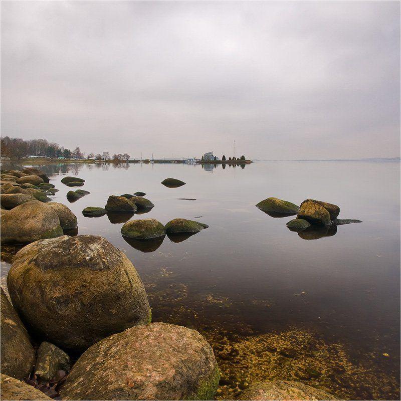 небо, камни, море, штиль photo preview