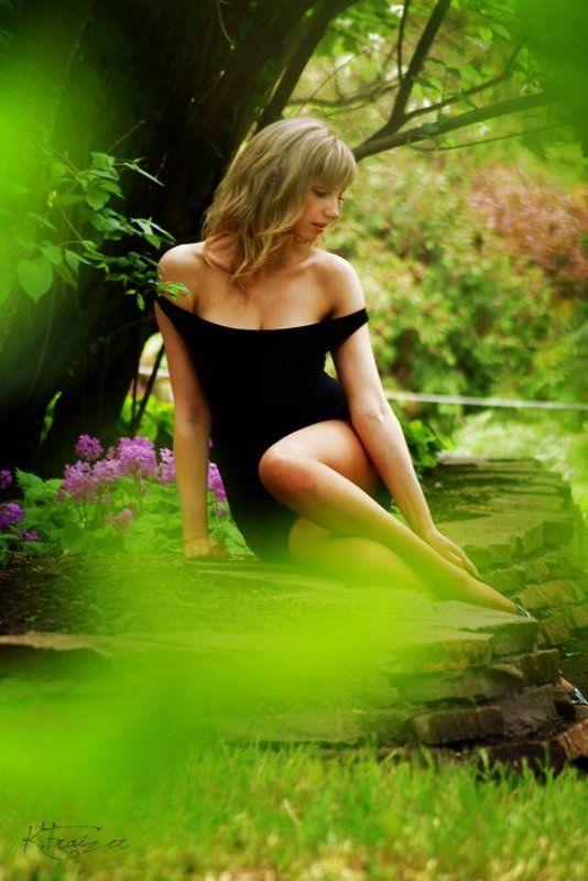 платье, азалии photo preview